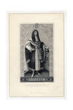 Charles II, King of England, Scotland and Ireland Giclee Print by Herbert Bourne