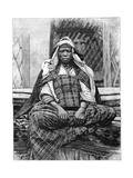 Woman, Biskra, Algeria, C1890 Giclee Print by Henri Thiriat