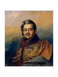 Denis Davydov, Russian Soldier and Poet, C1828 Giclee Print by George Dawe