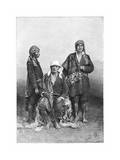 Indians of Tecpan, Guatemala, C1890 Giclee Print by Henri Thiriat