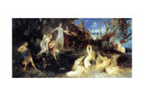The Hunt of Diana, (Stud), 1879 Giclee Print by Hans Makart
