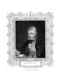 Sir Walter Scott, 1st Baronet, Prolific Scottish Historical Novelist and Poet, 19th Century Giclee Print by Henry Thomas Ryall