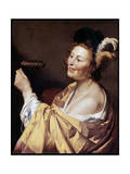 The Luteplayer, 1624 Giclee Print by Gerrit van Honthorst