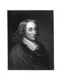 Blaise Pascal, 17th Century French Philosopher, Mathematician, Physicist and Theologian, C1830 Giclee Print by Henry Meyer