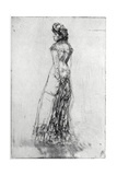 Maude, Standing, 1873 Giclee Print by James Abbott McNeill Whistler