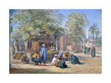 Egyptian Village, 1869 Giclée-tryk af Henry Pilleau