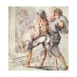 Study of Tax Collectors, 1591-1593 Giclee Print by Giuseppe Cesari