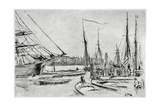 A Sketch from Billingsgate, 19th Century Giclee Print by James Abbott McNeill Whistler