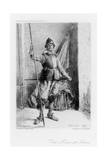 The Man at Arms, C1880-1882 Giclee Print by Henri Toussaint