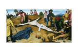 Christ Nailed to the Cross, C1481 Giclee Print by Gerard David