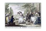Il Ballo (The Dance), 1790 Giclee Print by Giuseppe Piattoli