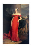 Portrait of the Grand Duchess Maria Pavlovna, C1822 Giclee Print by George Dawe