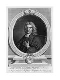 John Flamsteed, Astronomer, 1712 Giclee Print by George Vertue