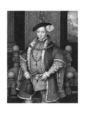 Edward VI, King of England Giclee Print by Henry Thomas Ryall