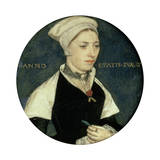 Portrait of Mrs Pemberton, C1535 Giclee Print by Hans Holbein the Younger