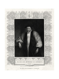 William Laud, Archbishop of Canterbury, 19th Century Giclee Print by Henry Thomas Ryall