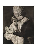 Mrs Carwardine and Child, C1775 Giclee Print by George Romney
