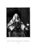 William Murray, 1st Earl of Mansfield, Scottish Jurist Giclee Print by Henry Thomas Ryall