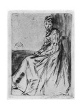 Maude, Seated, 19th Century Giclee Print by James Abbott McNeill Whistler