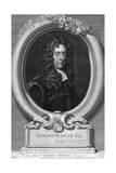 Edmond Waller, 17th Century English Poet Giclée-Druck von George Vertue