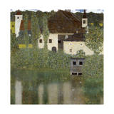 Castello Sul Lago Atter, (Castle Unterrach on the Attersee) 1908 Giclée-Druck von Gustav Klimt