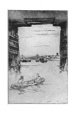 Under Old Battersea Bridge, 1879 Giclee Print by James Abbott McNeill Whistler