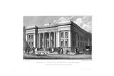 General Lying-In Hospital, York Road, Lambeth, London, 1830 Giclee Print by J Shury