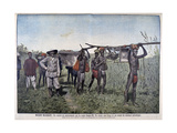A Convoy on the Marchand Mission in 1898 Giclee Print by Henri Meyer