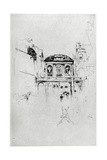 Temple Bar, 19th Century Giclee Print by James Abbott McNeill Whistler