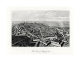 The Town and Fortress of Lille, France, 1875 Giclee Print by J Lacy