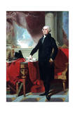 George Washington (1732-9), 1796 Giclee Print by Gilbert Stuart
