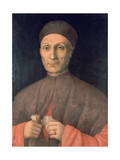 Portrait of a Scholar, C1450-1507 Giclee Print by Giovanni Bellini