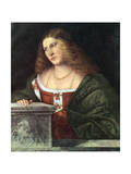 Portrait of a Woman, 1485-1547 Giclee Print by Giovanni Cariani