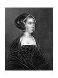 Anne Boleyn, Second Wife of Henry VIII Giclee Print by Henry Thomas Ryall