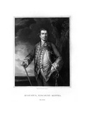 Augustus Keppel, 1st Viscount Keppel, British Admiral Giclee Print by Henry Thomas Ryall