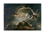 The Shepherd's Dream, from Paradise Lost, 1793 Giclee Print by Henry Fuseli