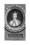 Henry I, King of England Giclee Print by George Vertue