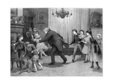A Romp after Dinner, 1887 Giclee Print by Henry Towneley Green