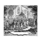 Marriage of Ten Poor Girls, 1761 Giclee Print by Hubert Francois Gravelot