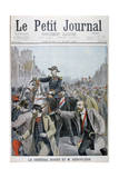 Paul Déroulède Grabbing General Roget's Bridle, Paris, 1899 Giclee Print by Henri Meyer