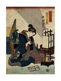 The End of the Twelfth Month (From the Series 'The Twelve Months), C1840-C1848 Giclee Print by Ikeda Eisen