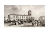London Bridge Station, Bermondsey, London, 1845 Giclee Print by Henry Adlard