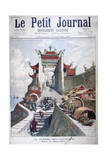 The Gate of Shanghai, China, Sino-Japanese War, 1895 Giclee Print by Henri Meyer