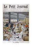 A Fight During the Grocers Strike, Paris, 1899 Giclee Print by Henri Meyer