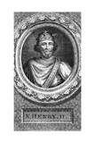 Henry II, King of England Giclee Print by George Vertue