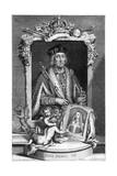 Henry VII of England, (18th Centur) Giclee Print by George Vertue