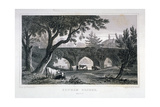 A Bridge at Eltham Palace, Kent, 1828 Giclee Print by Henry Adlard