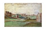 Landscape Near Antwerp, 1566 Giclee Print by Gillis Mostaert