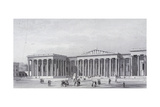 British Museum, Holborn, London, 1852 Giclee Print by Henry Adlard