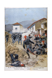 Battle of Meluna, Greco-Turkish War, 1897 Giclee Print by Henri Meyer